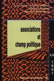 Associations et champ politique - Intérieur - Format classique