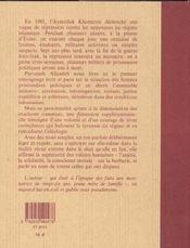 Evine - 4ème de couverture - Format classique
