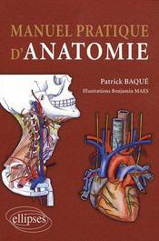 Manuel pratique d'anatomie - Couverture - Format classique