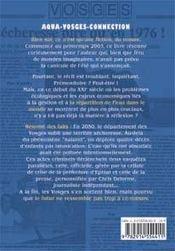 Aqua-Vosges connection - 4ème de couverture - Format classique
