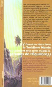 La Malerune 1 - Les Armes Des Garamont - 4ème de couverture - Format classique
