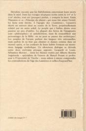 Ombres de l'utopie ; essais sur les voyages imaginaires du XVIe au XVIIIe siècle - 4ème de couverture - Format classique