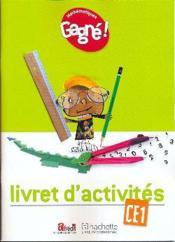 Gagne ! Maths Ce1 Livret D'Activites - Cameroun - Couverture - Format classique