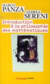 Introduction A La Philosophie Des Maths - Couverture - Format classique