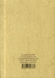 Dictionnaire infernal - 4ème de couverture - Format classique