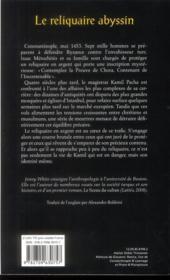 Le reliquaire abyssin - 4ème de couverture - Format classique