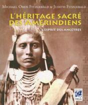 L'esprit sacré des Amérindiens - Couverture - Format classique