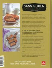Sans gluten naturellement - 4ème de couverture - Format classique