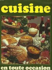 Cuisine En Toute Occasion - Couverture - Format classique