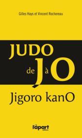 Judo de J à O - Couverture - Format classique