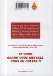Ki-itchi VS t.6 - 4ème de couverture - Format classique