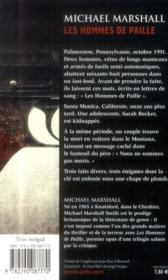 Les hommes de paille - 4ème de couverture - Format classique