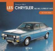 Chrysler 160-180 2-litres de mon pere - Couverture - Format classique