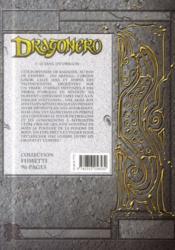 Dragonero t.1 ; le sang du dragon - 4ème de couverture - Format classique