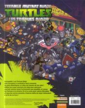 Teenage Mutant Ninja Turtles ; les Tortues Ninja ; cherche et trouve - 4ème de couverture - Format classique