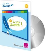 A vos plumes - ce1 + cd rom - Couverture - Format classique