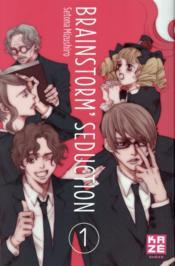 Brainstrom seduction t.1 - Couverture - Format classique