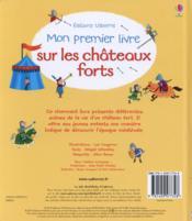 Mon premier livre sur les châteaux forts - 4ème de couverture - Format classique