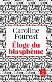 Éloge du blasphème - Couverture - Format classique
