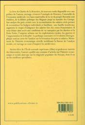 Prix et salaires a florence au xive siecle 1280 1380 - 4ème de couverture - Format classique
