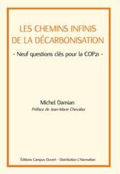 Les chemins infinis de la décarbonisation ; neuf questions clés pour la COP21 - Couverture - Format classique