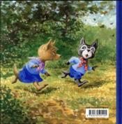 Lou P'tit Loup et le cerf-volant - 4ème de couverture - Format classique