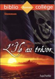 L'île au trésor, de Robert Louis Stevenson - Couverture - Format classique
