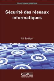 Sécurité des réseaux informatiques - Couverture - Format classique