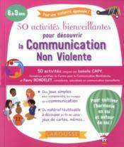 50 activités bienveillantes pour apprendre la communication non violente - Couverture - Format classique