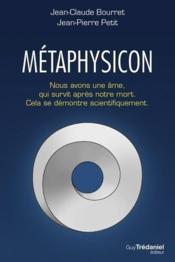 Le métaphysicon - Couverture - Format classique