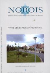REVUE NOROIS N.205 ; vivre les espaces périurbains - Couverture - Format classique