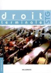 Droit terminale stg eleve ed08 - Couverture - Format classique
