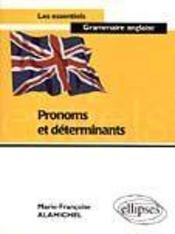 Pronoms Et Determinants - Intérieur - Format classique