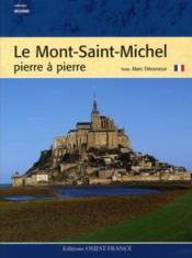 Le Mont Saint-Michel pierre à pierre - Couverture - Format classique