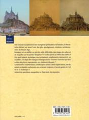 Le Mont Saint-Michel pierre à pierre - 4ème de couverture - Format classique
