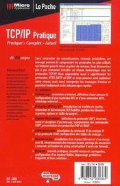 Le poche tcp/ip pratique - 4ème de couverture - Format classique