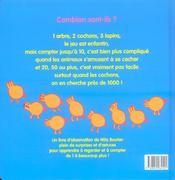 Combien sont-ils ? un livre d'observation pour compter de 1 à... beaucoup ! - 4ème de couverture - Format classique