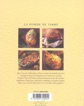 Pomme de terre (la) - 4ème de couverture - Format classique