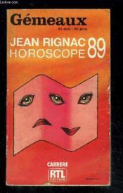 Gemeaux Horoscope 89 - Couverture - Format classique
