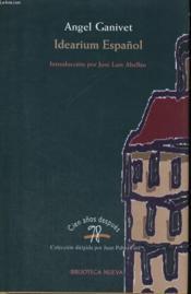 Idearium Espanol - Couverture - Format classique