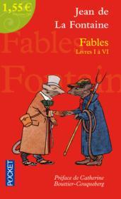 Fables ; livres I à VI - Couverture - Format classique