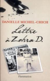 Lettre à Zohra D. - Couverture - Format classique