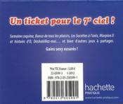 Sexy chance ; 24 tickets à gratter pour des gains sexy immédiats ! - 4ème de couverture - Format classique