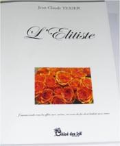 L'élitiste - Couverture - Format classique