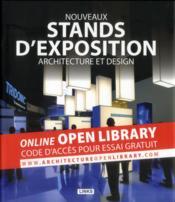 Nouveaux stands d'exposition ; architecture et design - Couverture - Format classique