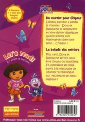 Dora l'exploratrice ; je veux être clown - 4ème de couverture - Format classique
