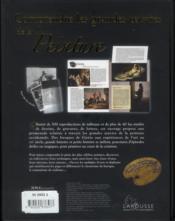 Comprendre les grandes oeuvres de la peinture - 4ème de couverture - Format classique