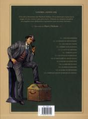 Harry Dickson, le Sherlock Holmes américain T.1 ; l'île des possédés - 4ème de couverture - Format classique