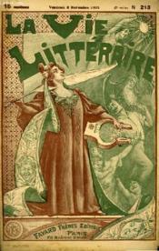 Un Sujet De Piece. La Vie Litteraire. - Couverture - Format classique