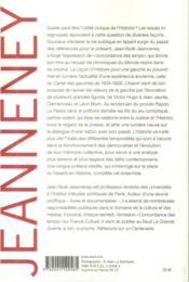 L'histoire, la liberté, l'action ; oeuvres (1977-2012) - 4ème de couverture - Format classique